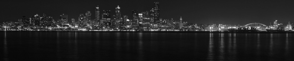 Seattle in Black & White