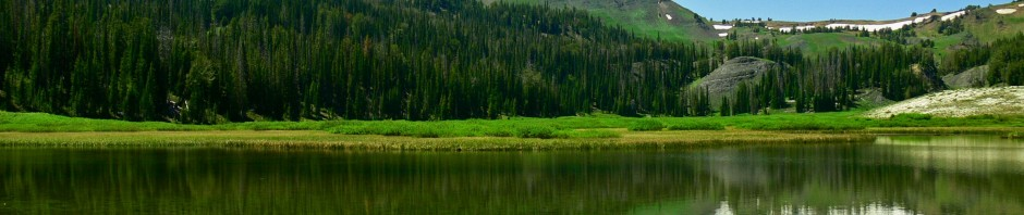 Lower Bonny Lake in the Wallowa Mountains