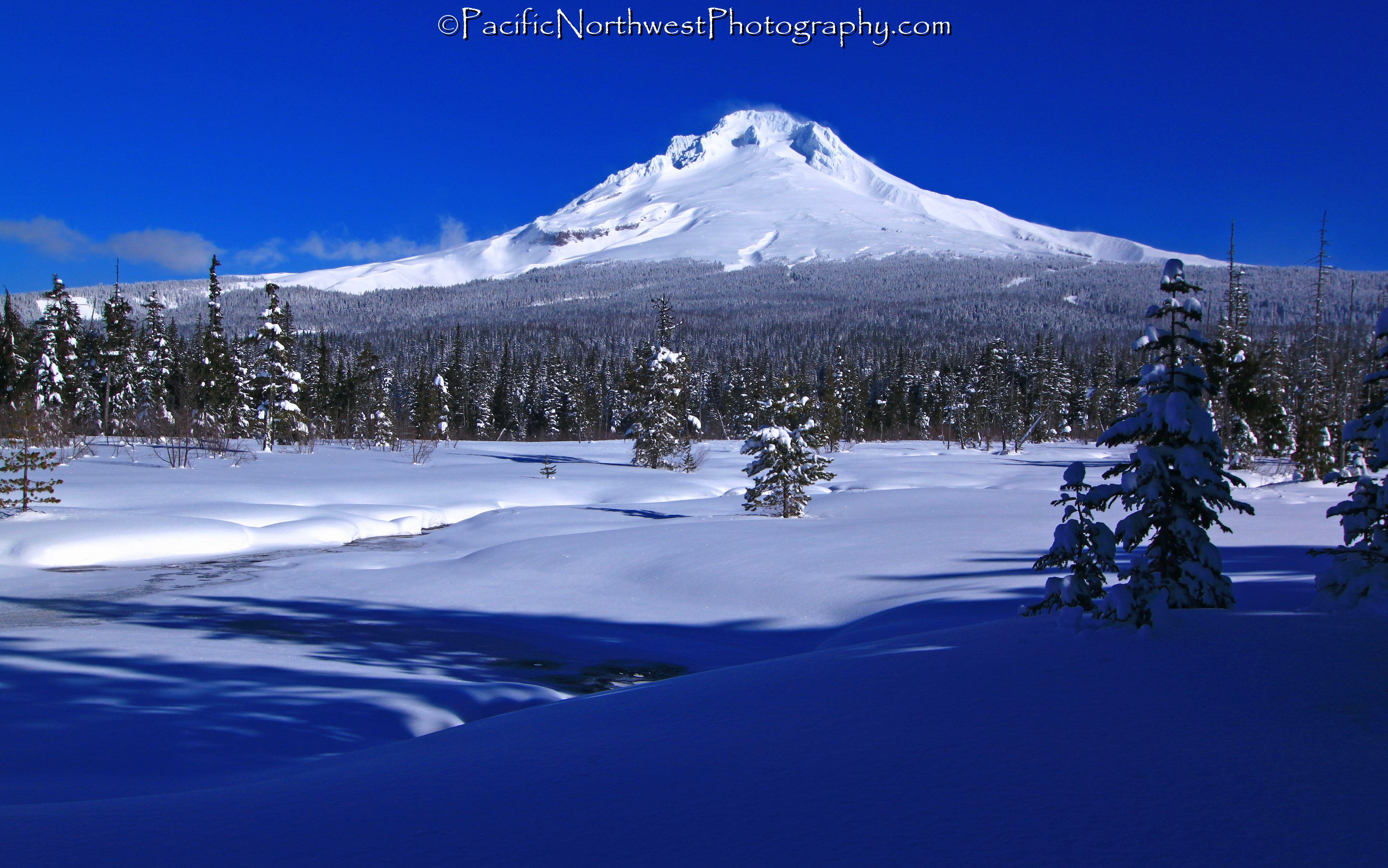 Mt. Hood after a recent snow storm