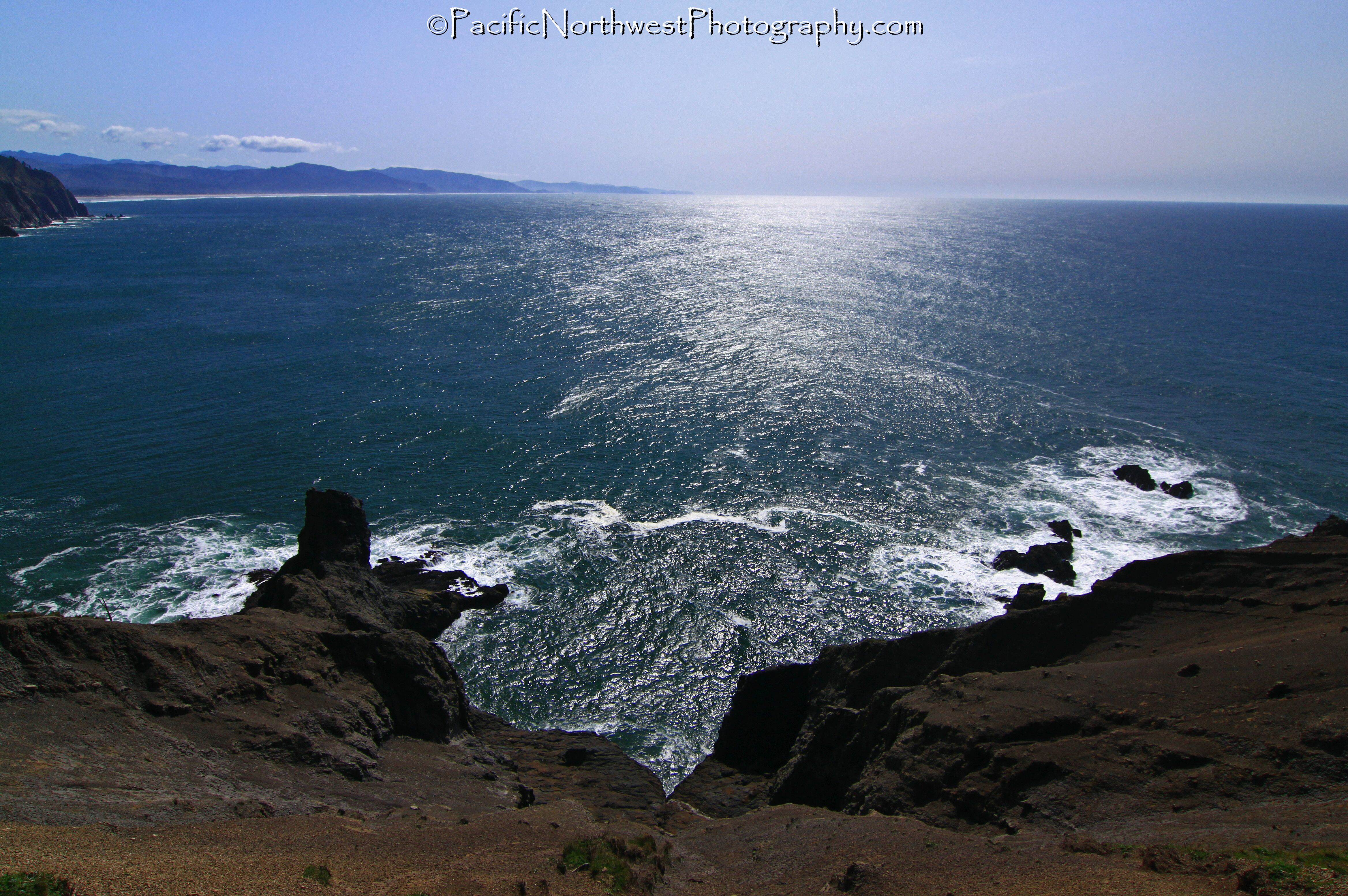 The view from Salal Headland