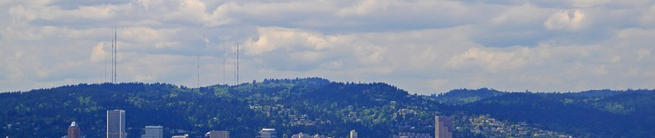 View of Portland, OR from Mt. Tabor