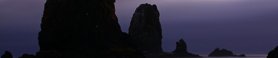 The moon and rocks