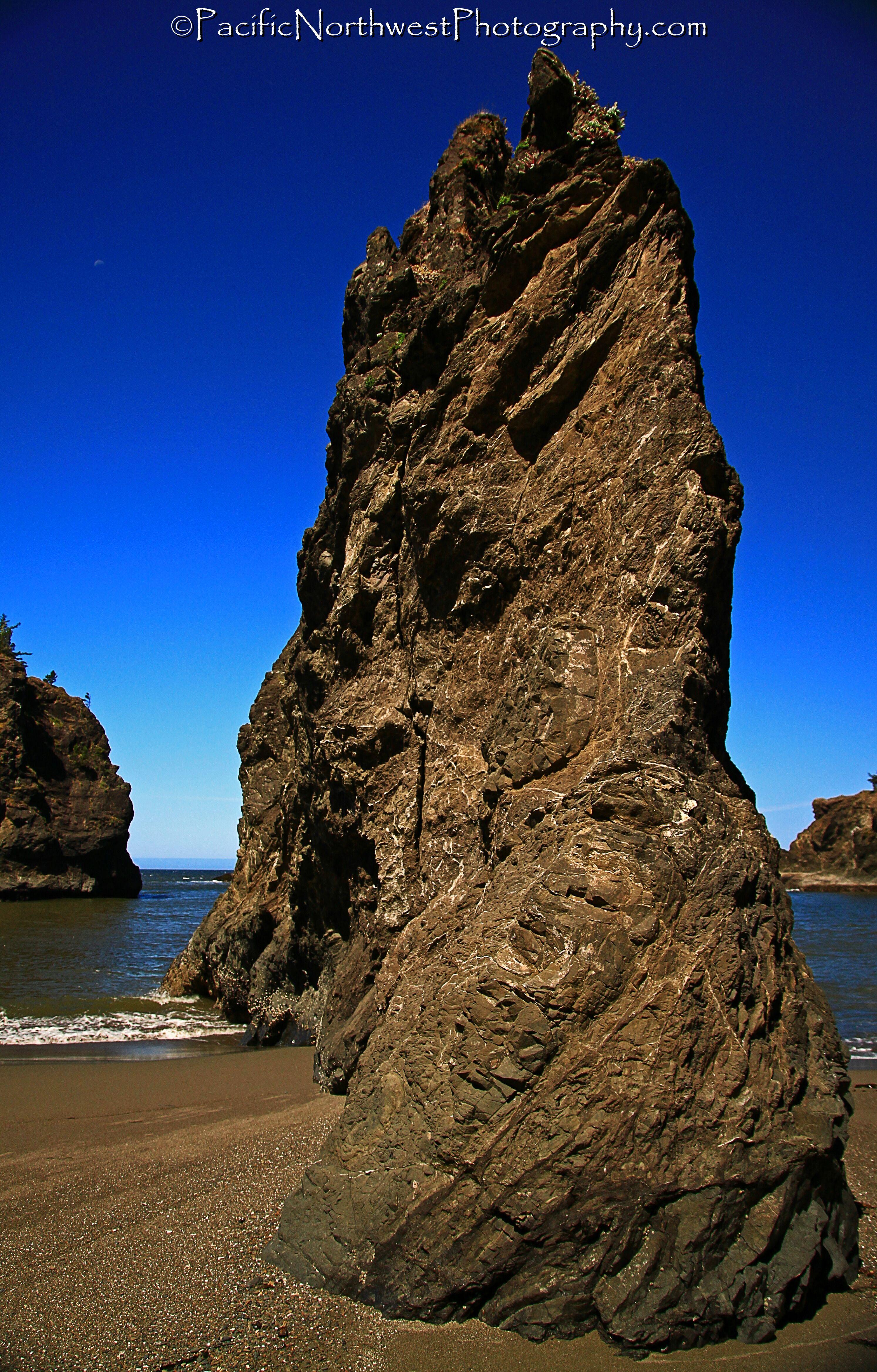 rocks, sky and beach