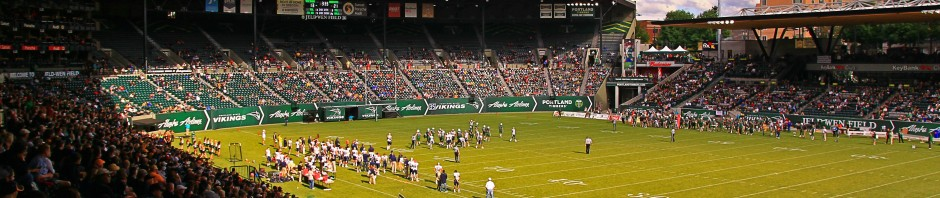 Jeld-Wen Field in Portland, OR