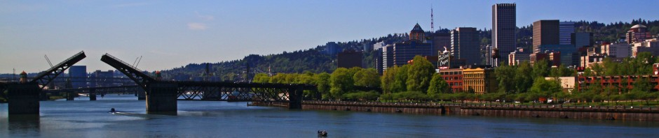 Burnside Bridge in Portland, OR