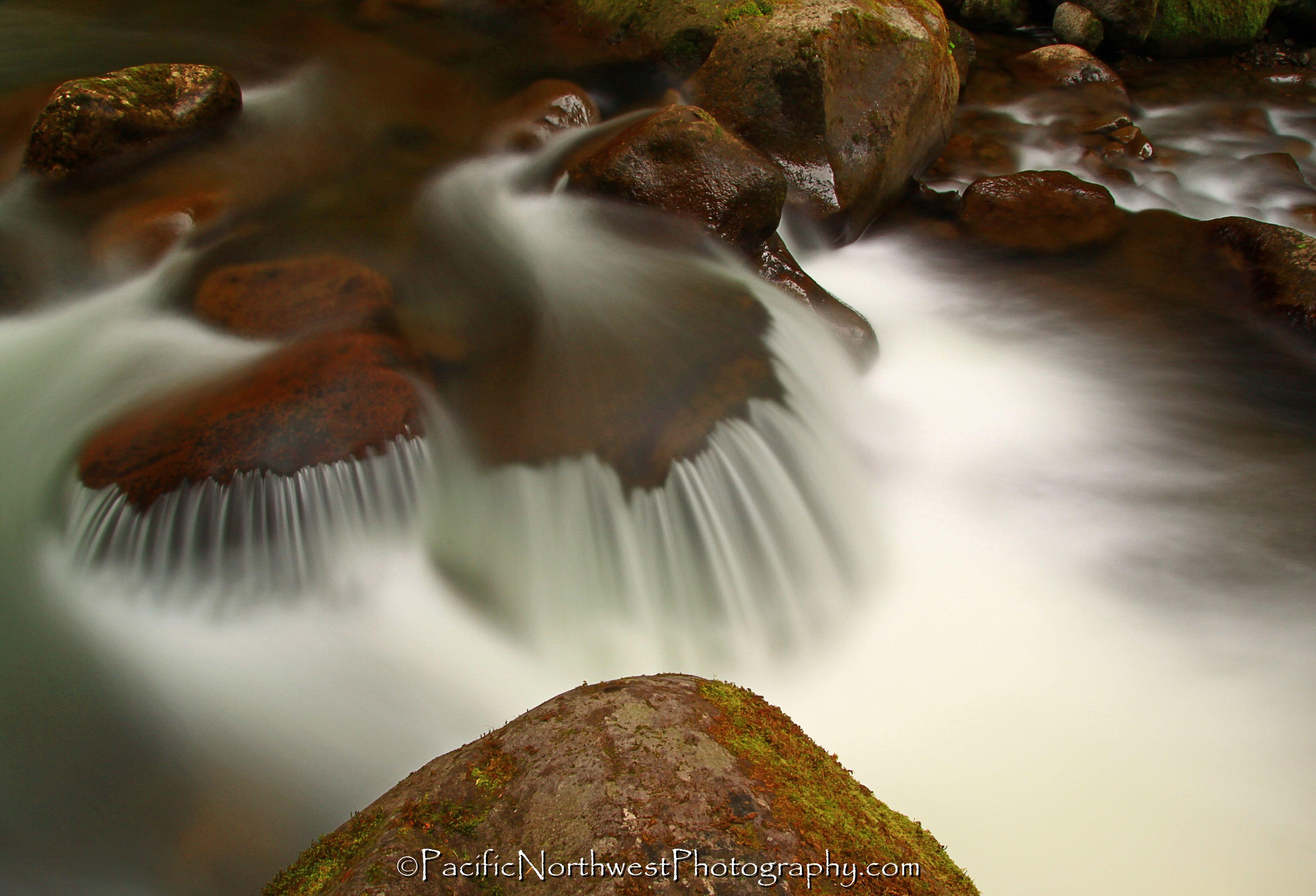A creek runs through it