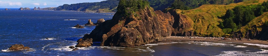 Cape Ferrelo along the Southern Oregon Coast