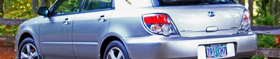Subaru Impreza vs. Silver Falls State Park, OR