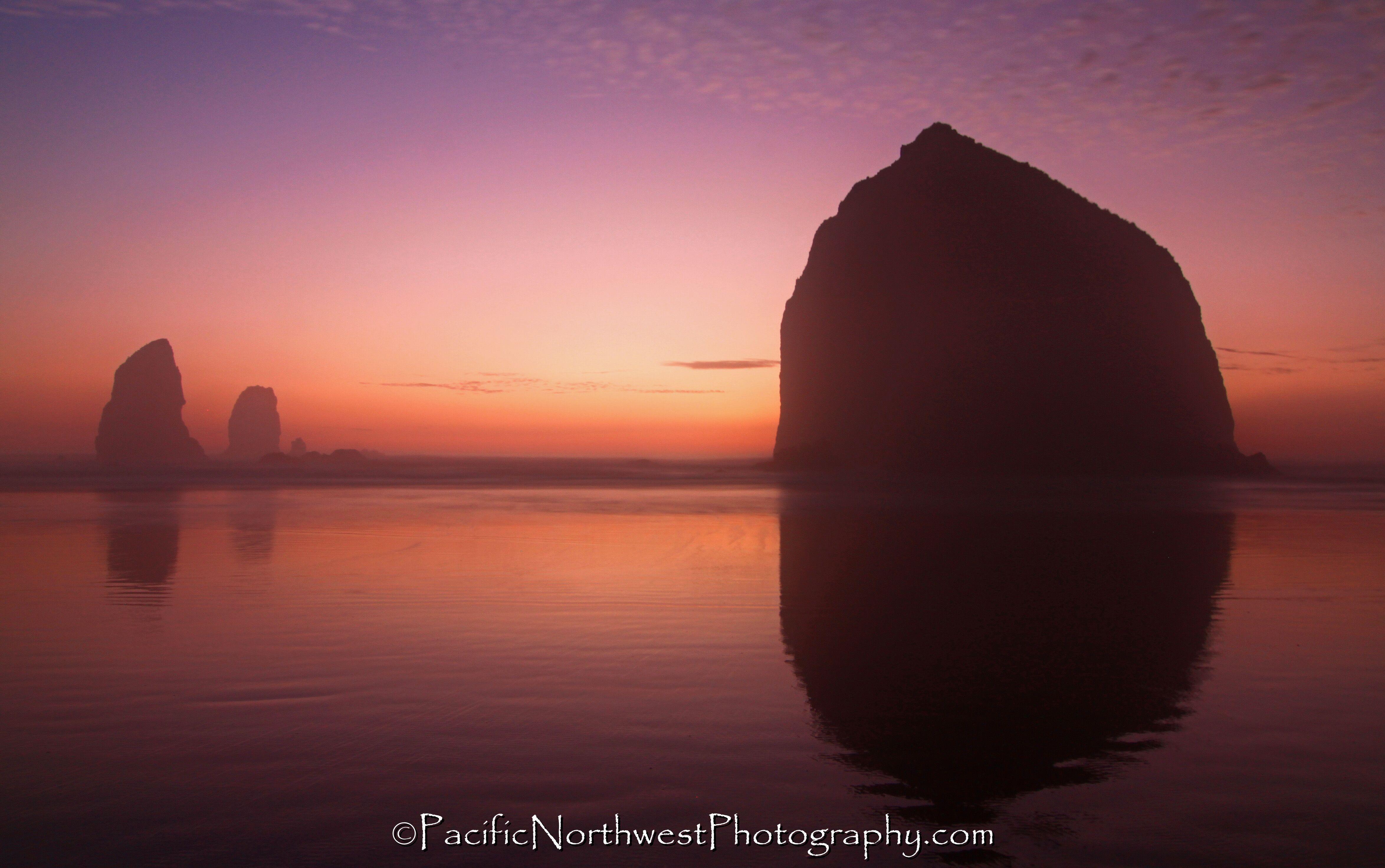 Sunset at the Oregon Coast