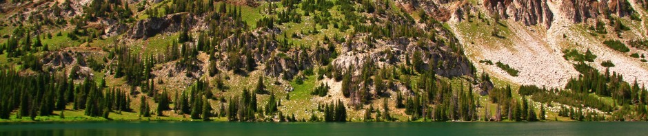 Bonneville Mountain in the Eagle Cap Wilderness, OR