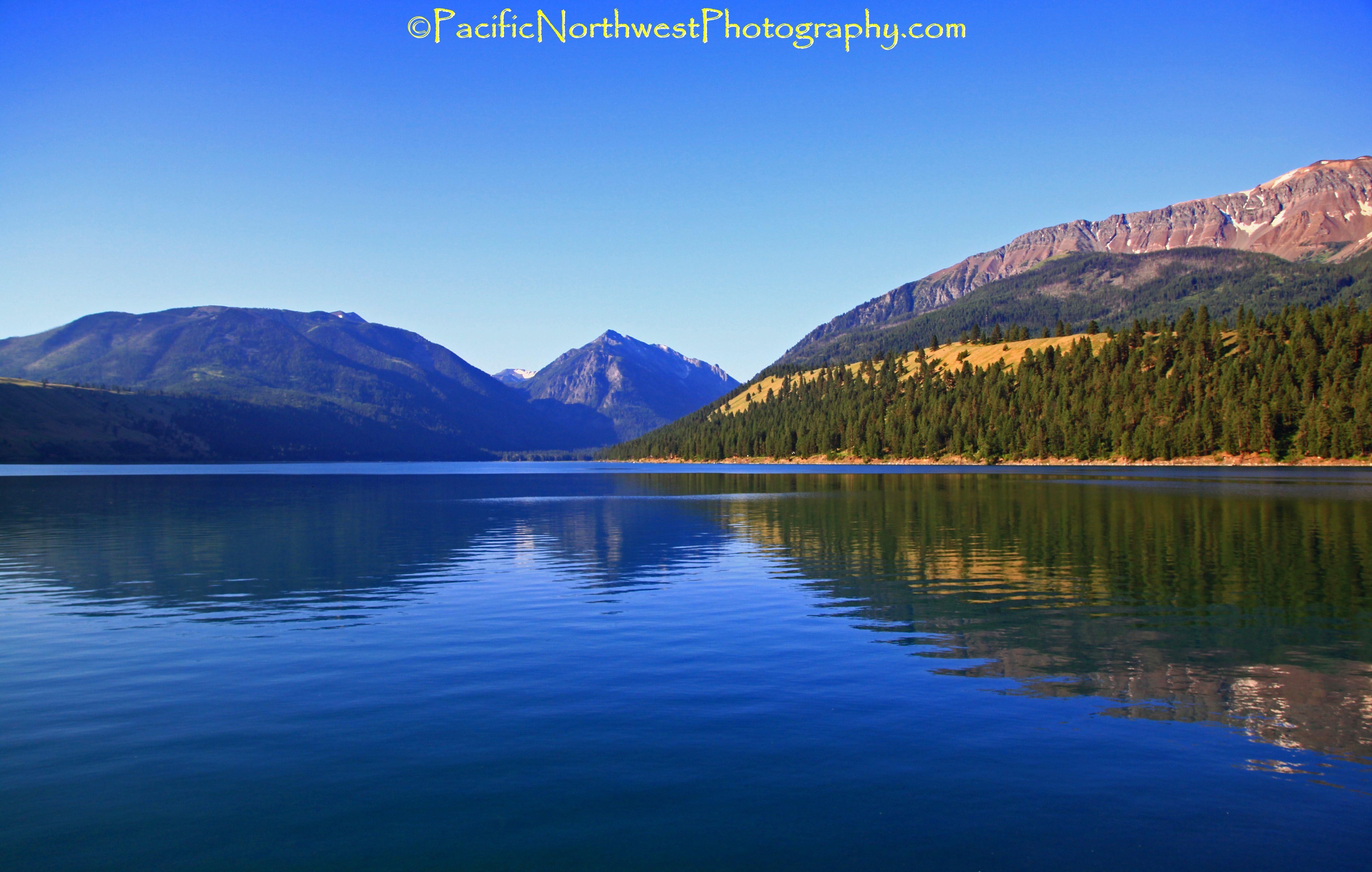 Wallowa Lake and Wallowa mountains, Oregon