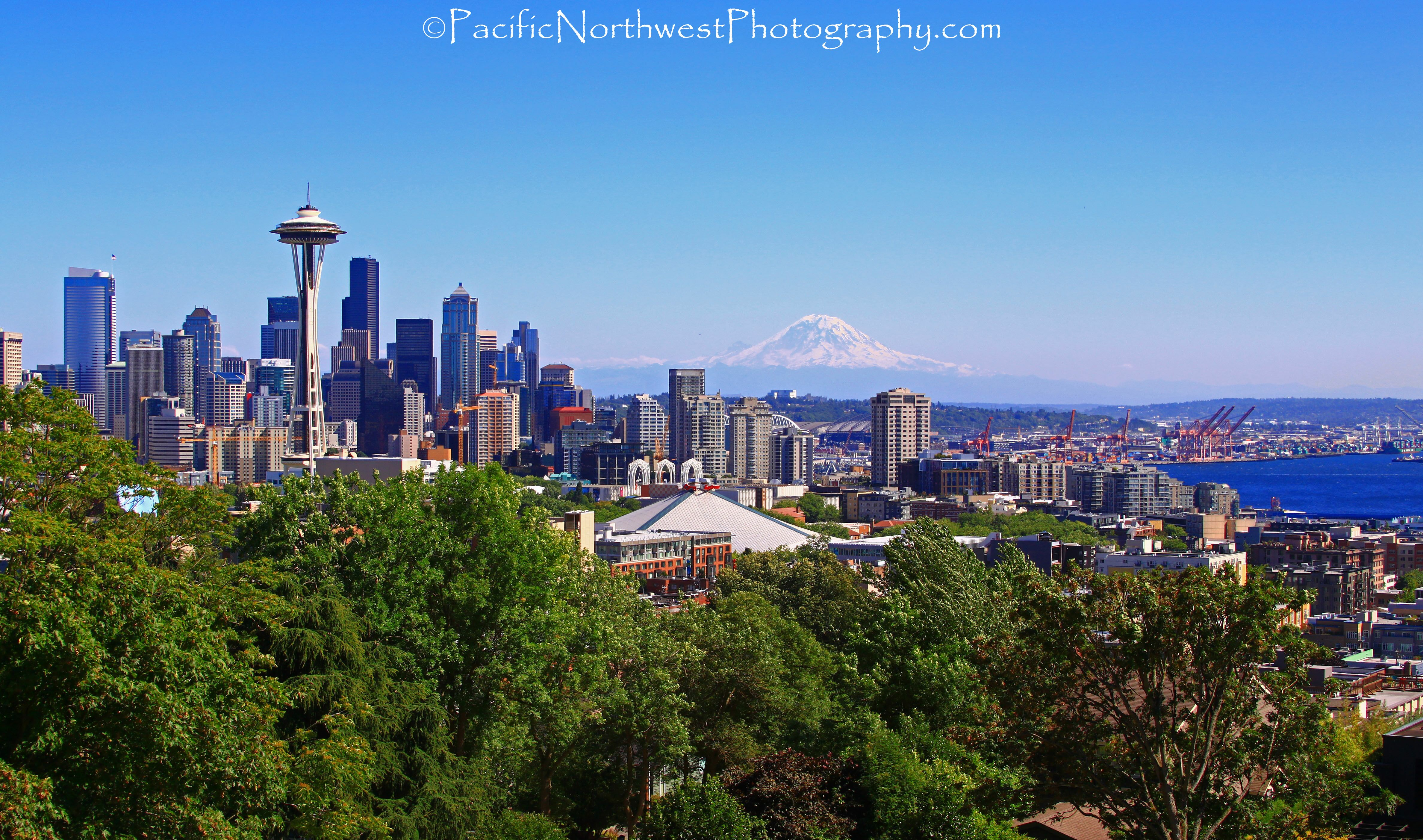 Beautiful Seattle, Washington